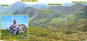 Vistas desde el Cueto o Pico del Fraile (1875 m.)