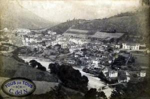 Cangas del Narcea en 1880