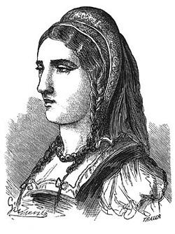 Doña Jimena Díaz de Vivar, mujer del Cid