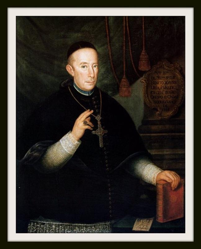 BA0002 - Retrato de Fray Benito de Uría y Valdés