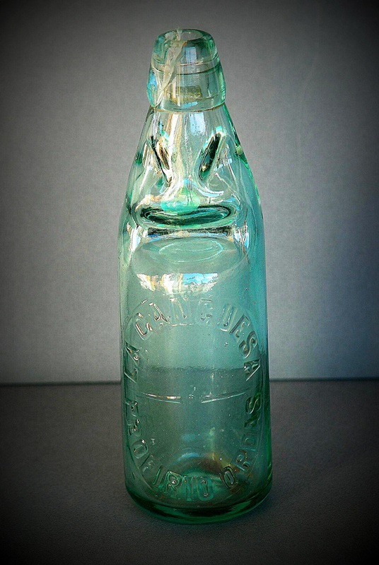 ET0006 - Botella de soda o gaseosa
