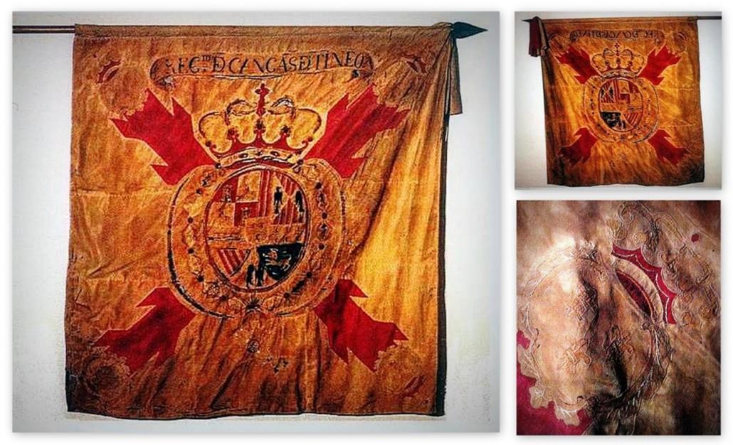 HT0003 - Bandera del Regimiento de Cangas de Tineo